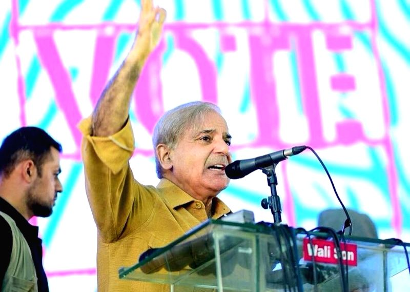 Shehbaz Sharif.