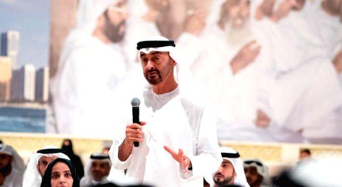 Sheikh Mohammed bin Zayed Al Nahyan.