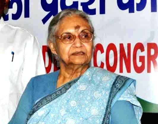 Sheila Dikshit.(File Photo: IANS) - Sheila Dikshit