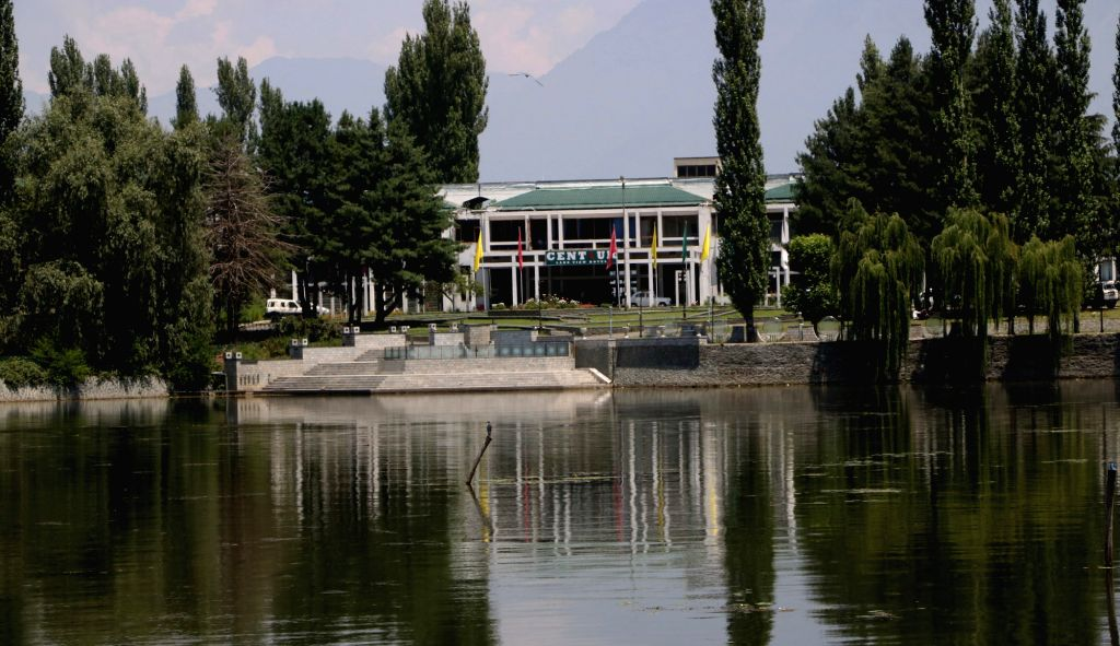 Sher-i-Kashmir International Conference Centre (SKICC) on the banks of Dal Lake, Srinagar. (File Photo: IANS)