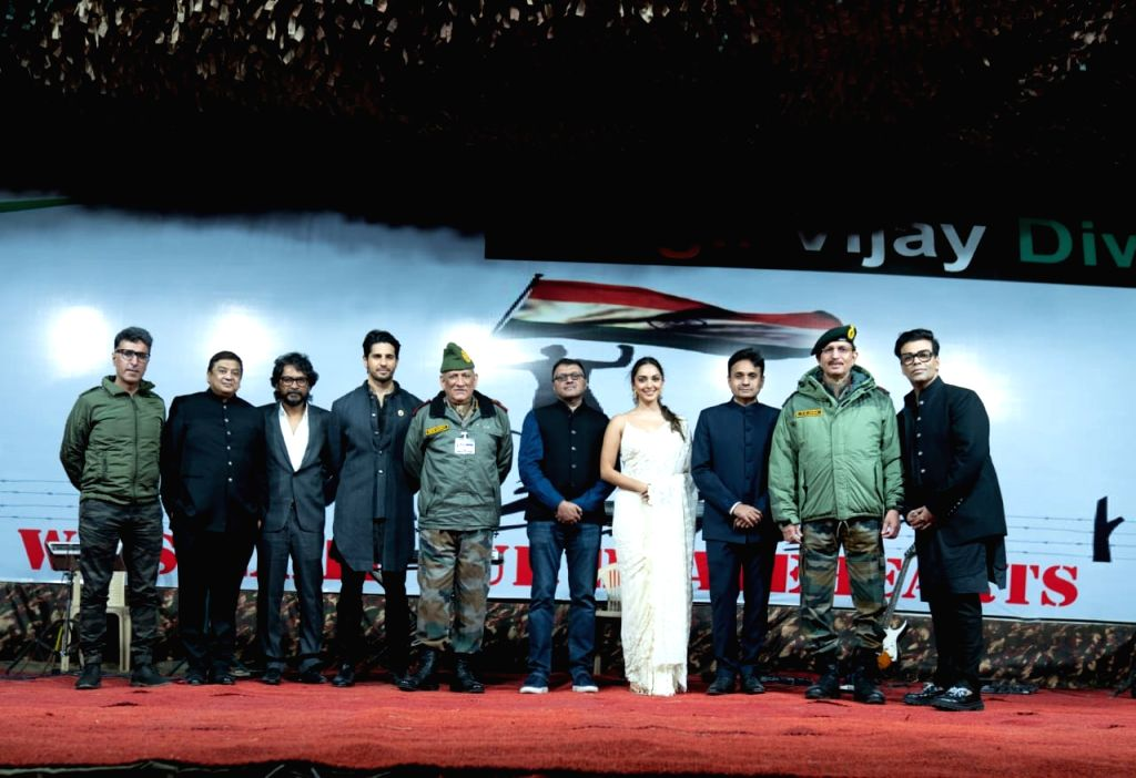 Shershaah trailer launches at Kargil Vijay Diwas gala