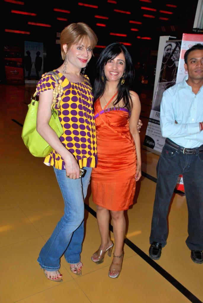 Shibani Kashyap at Doomsday film premiere.