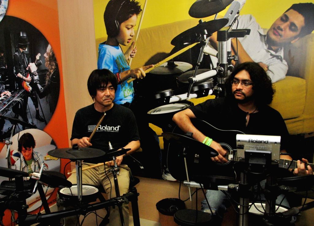 Launch of India's first Roland School of Music Japan in Kolkata