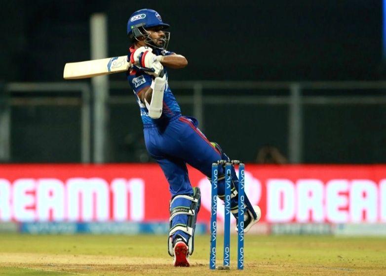 Shikhar Dhawan of Delhi Capitals  ( Credit : BCCI/IPL) (not for sale) - Shikhar Dhawan