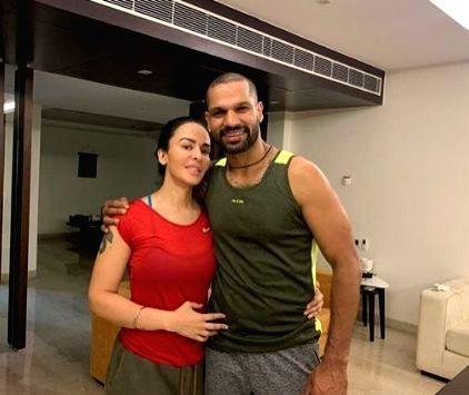 Shikhar Dhawan pens down heartwarming post for wife Ayesha. - Shikhar Dhawan