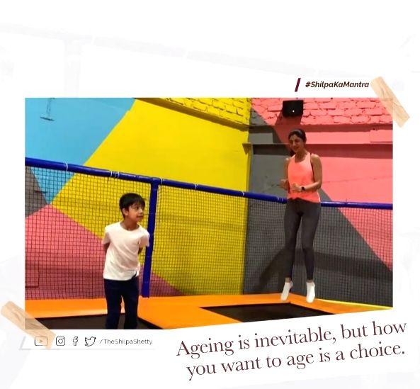 Shilpa Shetty doesn't believe in aging stereotypes.(photo:instagram) - Shilpa Shetty