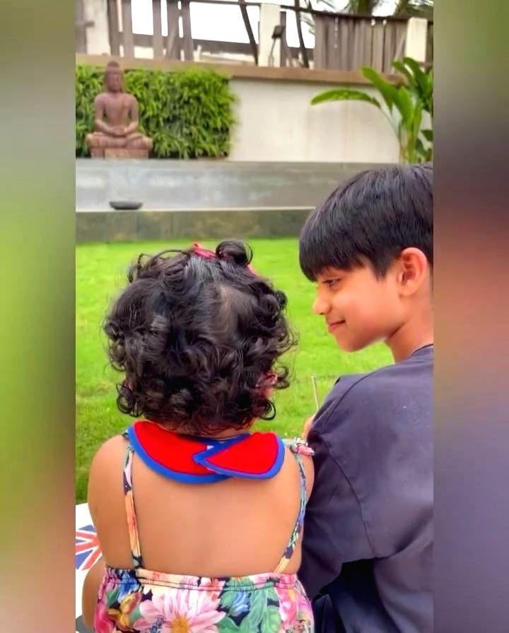 Shilpa Shetty Kundra celebrates Brother's Day with fun video of her kids (photo:Instagram) - Shilpa Shetty Kundra