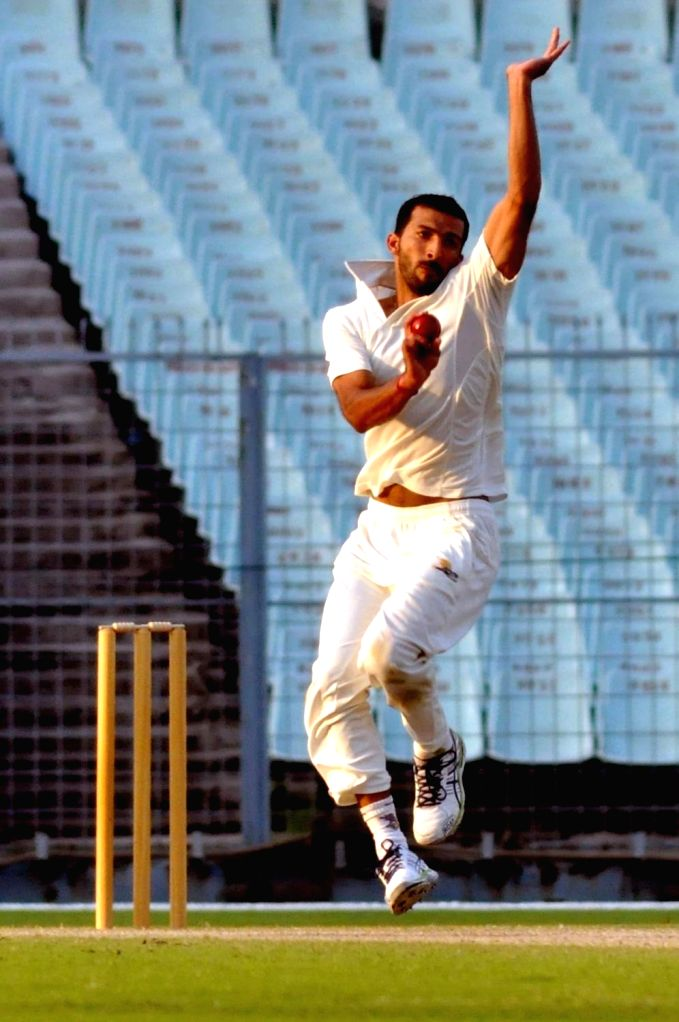 Shimla, April 9 (IANS) Former India international and Himachal Pradesh all-rounder Rishi Dhawan (28) was fined on Thursday for roving in a luxury car in his hometown Mandi in violation of curfew norms in place to contain the spread of coronavirus.(F