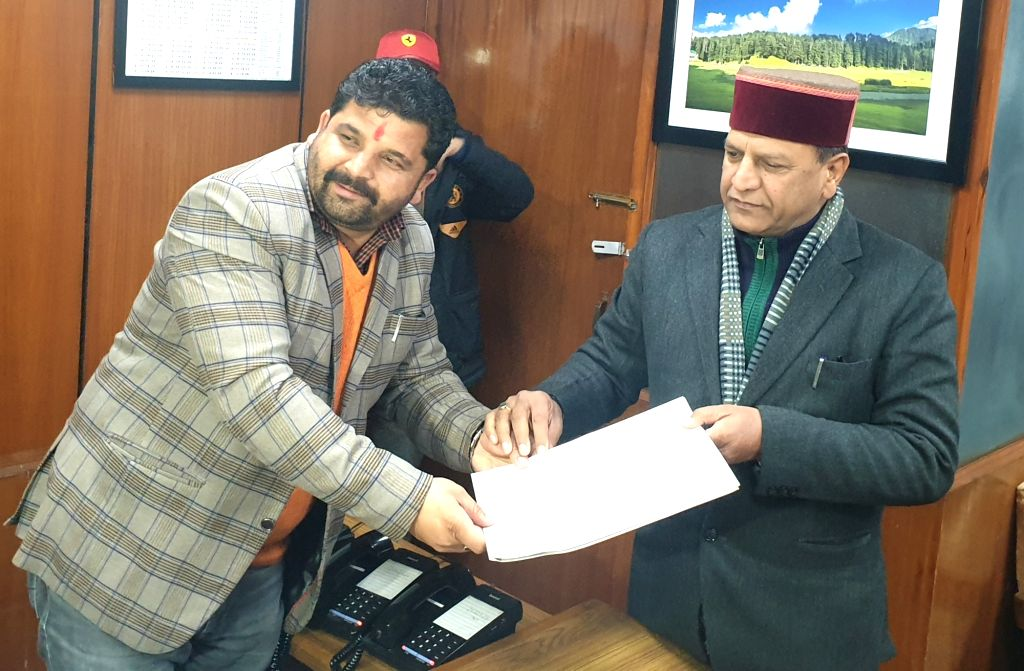 Shimla: Former Himachal Pradesh minister and BJP's four-time legislator Rajeev Bindal is set to be the party's next state President. He resigned as the assembly Speaker on Thursday. (Photo: IANS)