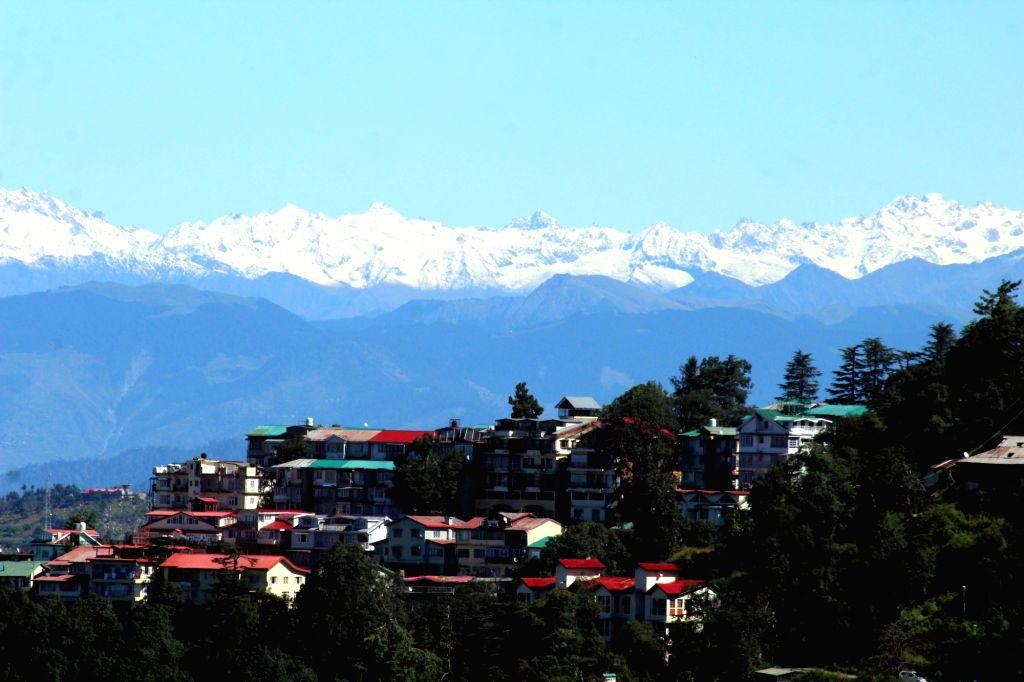 Shimla, Kufri get more snow cover. (Photo: IANS)