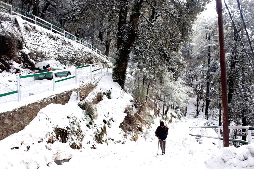 Shimla receives fresh snowfall. (File Photo: IANS)