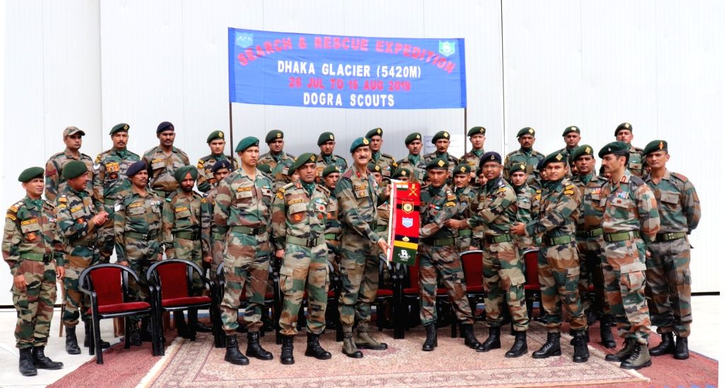 Shimla: The Tripeak Brigade Commander flags off a search expedition team to recover the bodies of 90 soldiers who went missing after an Indian Air Force An-12 transport aircraft crashed 51 years ago in the icy mountains of Himachal Pradesh killing al