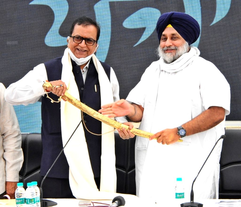 Shiromani Akali Dal and BSP alliance.
