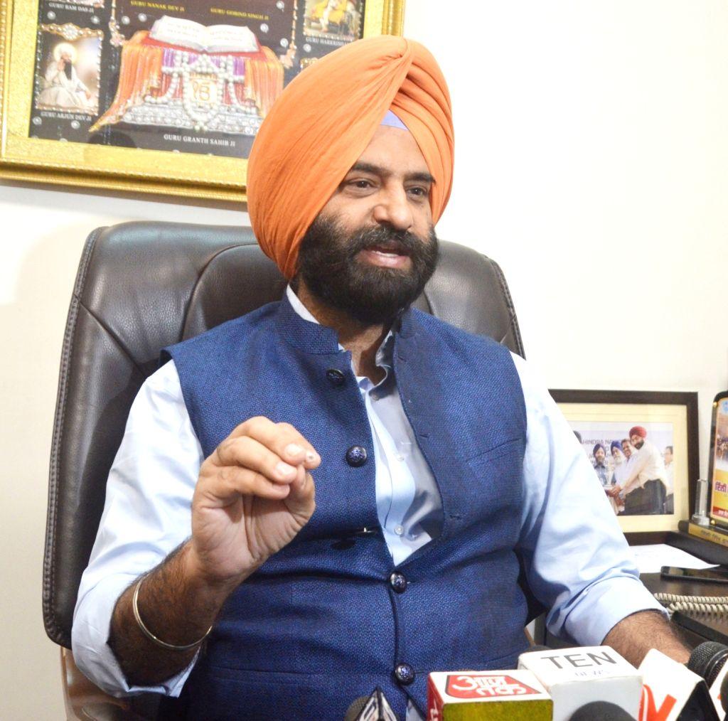 Shiromani Akali Dal MLA Manjinder Singh Sirsa - Manjinder Singh Sirsa