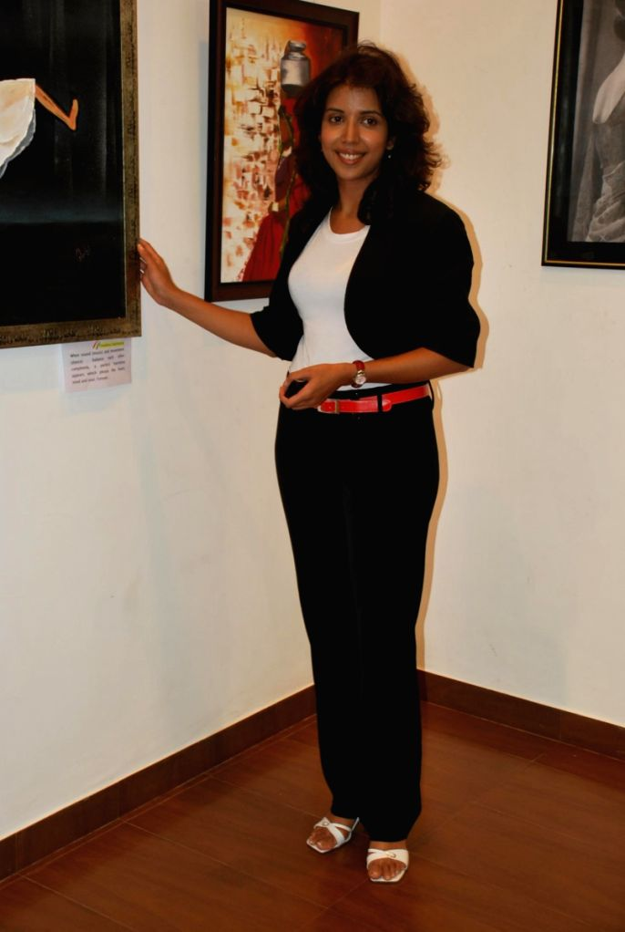 "Shital Shah's ""Different Strokes"" art event."