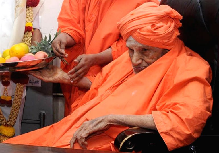 Shivakumara Swami. (File Photo: IANS)