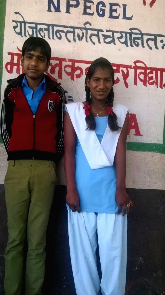 Shivlal with his fiancee Ratni