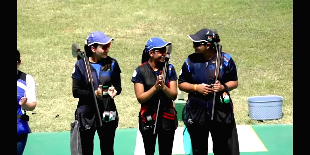 Shooting WC: India win gold in men's, women's team trap. (Credit: ISSF Youtube)