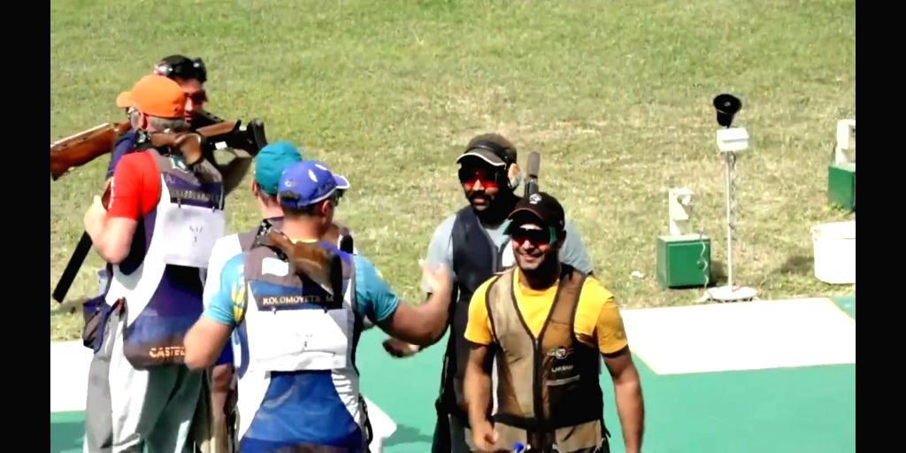 Shooting WC: India win gold in men's, women's trap. (Credit: ISSF Youtube)