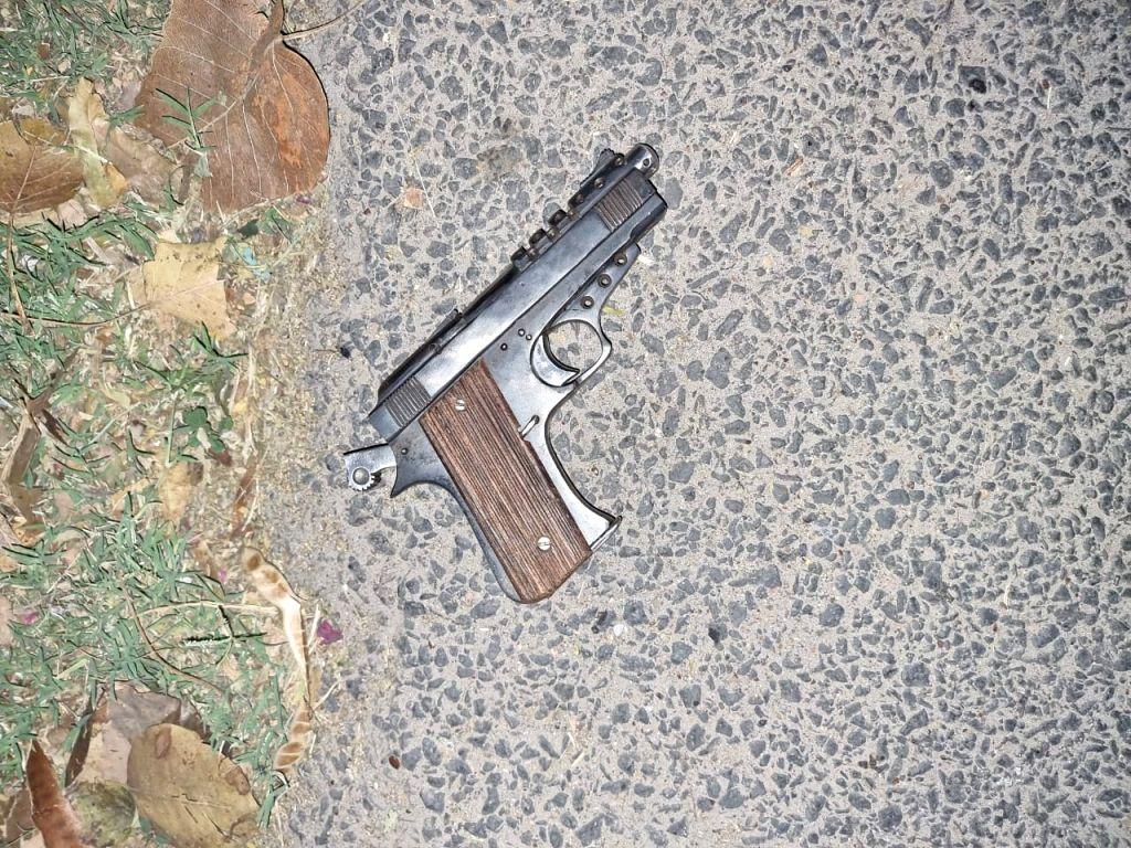 Shootout in South Delhi, robber arrested