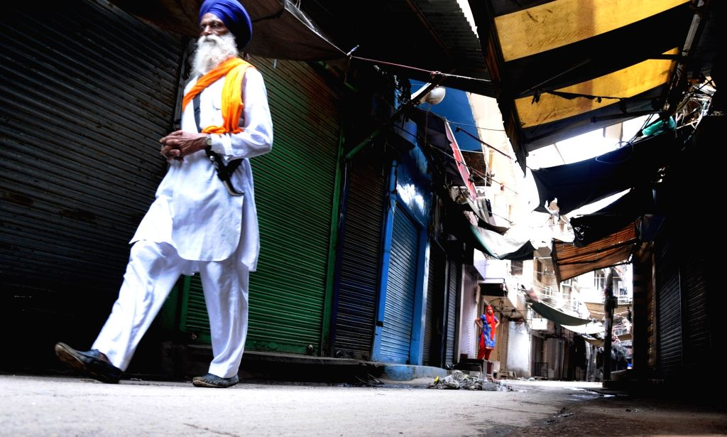 Shops remain closed during a shutdown called by radical Sikh outfit Dal Khalsa on the 34th anniversary of Operation Bluestar, in Amritsar on June 6, 2018.