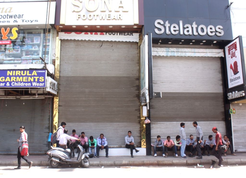 Shops remain shut as traders went on a strike and participated in a protest rally against the sealing drive, jointly organised by All Delhi Traders Vyapari and Workers Association and ...