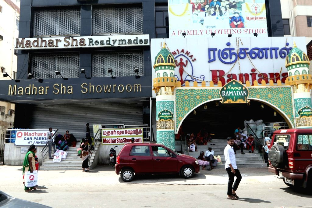 Shops remain shut during a DMK-led shutdown strike over the police firing that killed 13-anti-Sterlite copper plant protestors in Tamil Nadu's Thoothukudi, in Chennai on May 25, 2018.