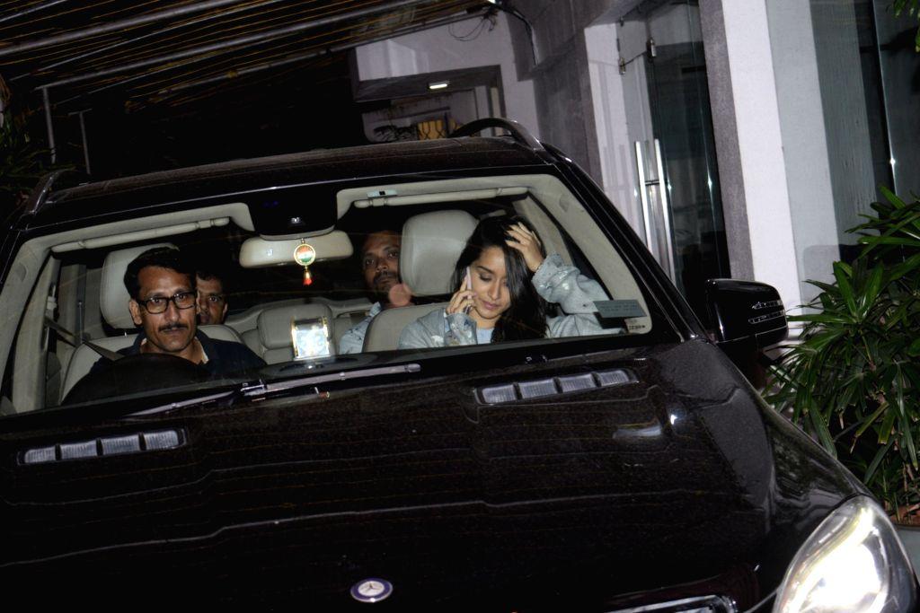 Shraddha Kapoor spotted at Sunny Sound Juhu. - Shraddha Kapoor