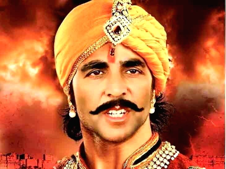 Shri Rajput Karni Sena, which protested against screening of Bollywood film Padmavat over 'tampering' of historical facts, here on Monday, blocked the shooting of film Prithviraj Chauhan. - Prithviraj Chauhan
