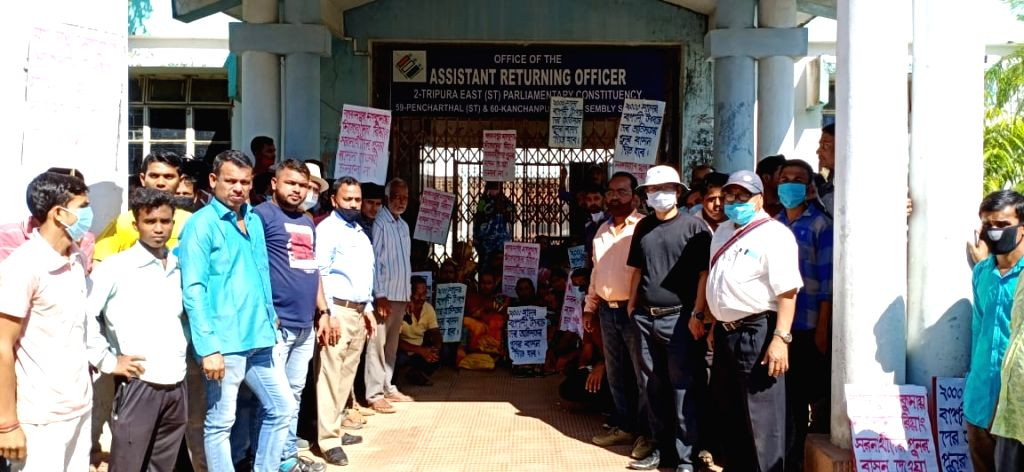 Shutdown in Tripura's Kanchanpur over Mizoram tribals' resettlement.