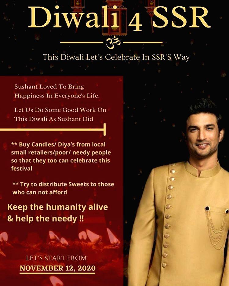 Shweta Singh Kirti: This Diwali Sushant Wali - Shweta Singh Kirti