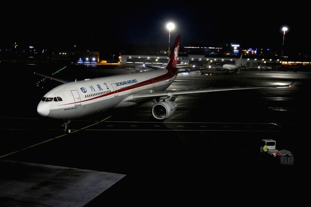 Sichuan Airlines (Photo by Matti Matikainen/Xinhua/IANS)
