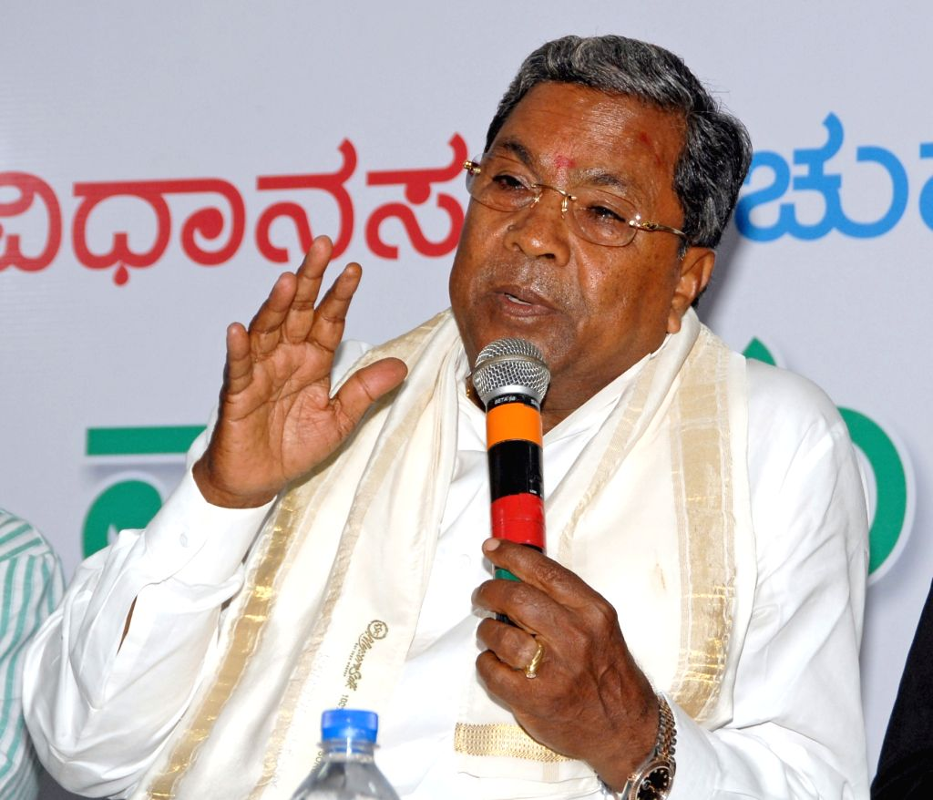 Siddaramaiah. (Photo: IANS)