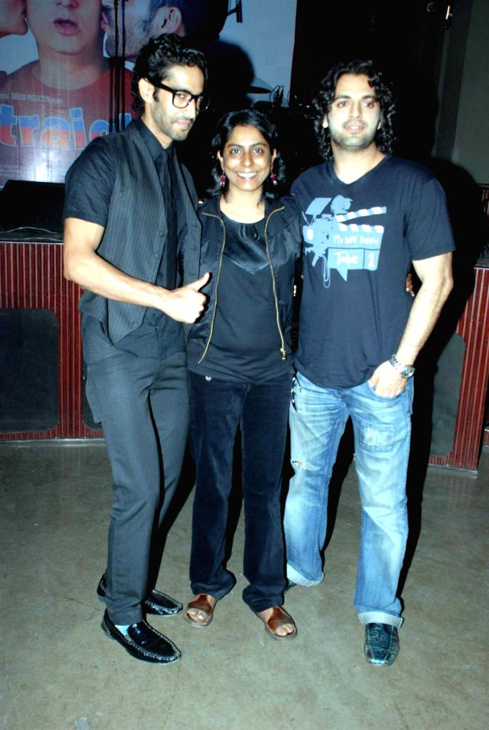 Siddharth Makkar with Guests at Straight film music launch.