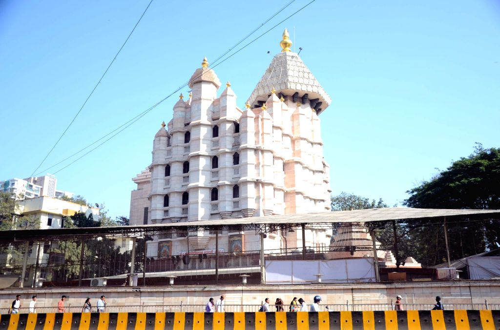 Siddhivinayak Temple, Mumbai. (File Photo: IANS)