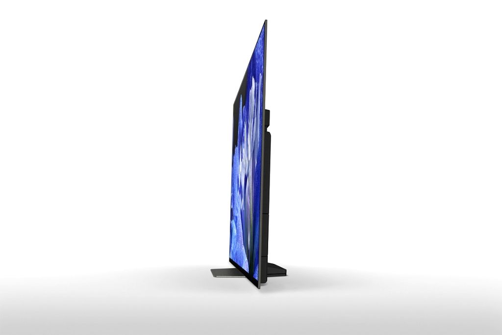 Side view of Sony Bravia OLED TV