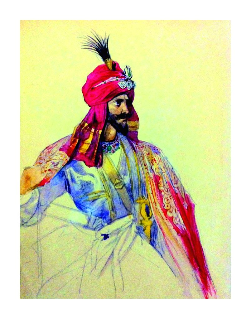 Sikh Noble. (Photo Source: Hubris Foundation)