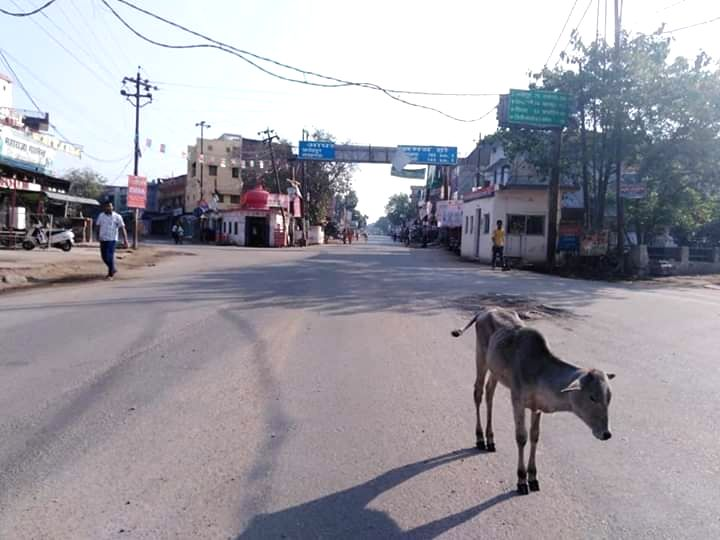 Silence prevails in Uttar Pradesh's Bundelkhand where people have shown strong support to 'Janata Curfew'.