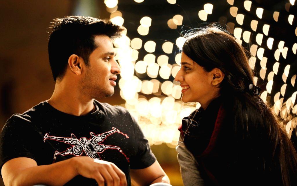 "Sills from Telugu upcoming film ""Kirrak Party""."