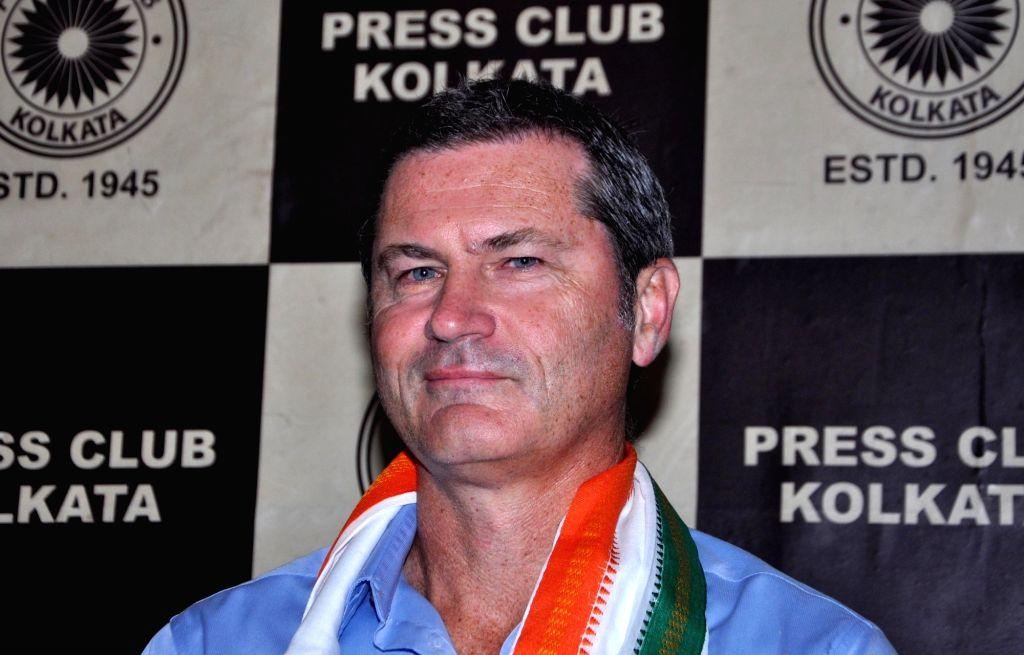Simon Taufel. (Photo: Kuntal Chakrabarty/IANS)