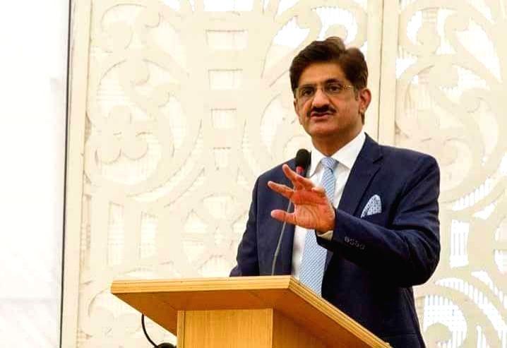 Sindh Chief Minister Murad Ali Shah. - Murad Ali Shah
