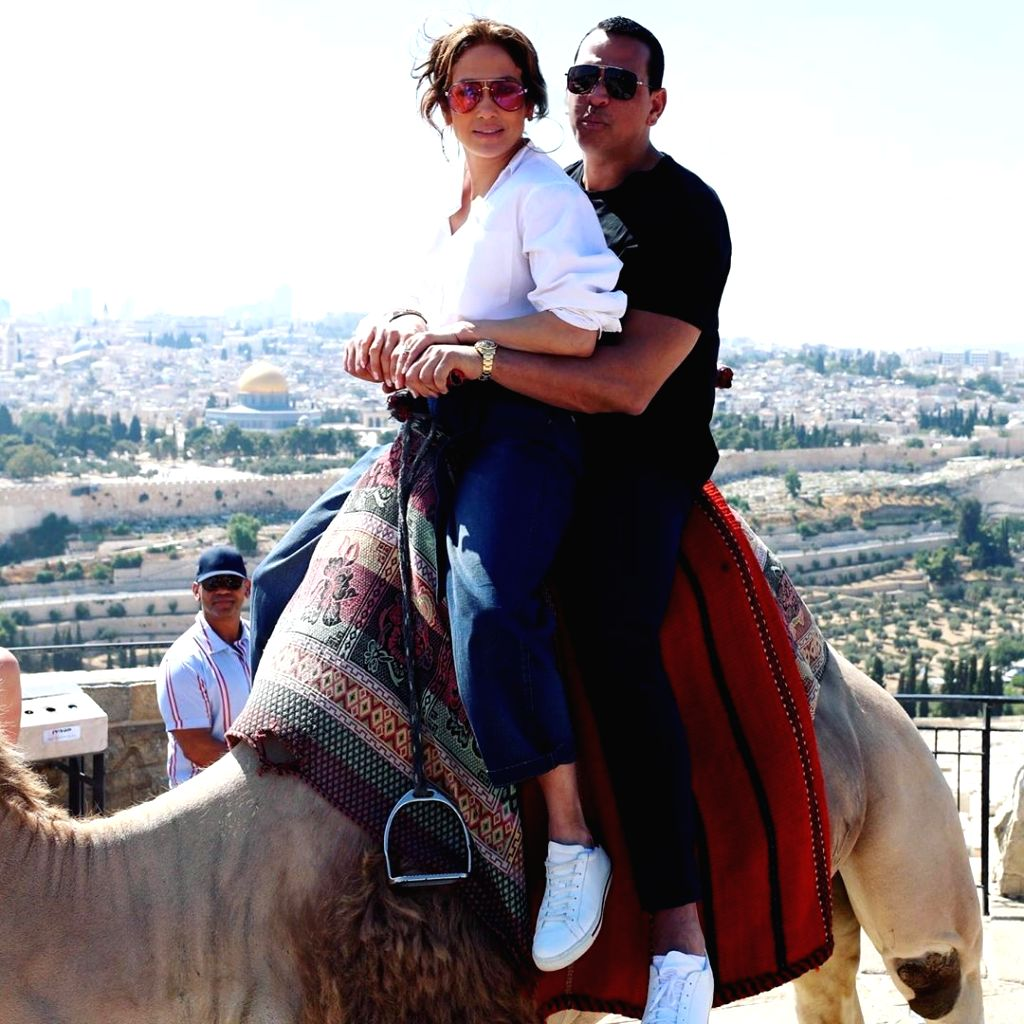 Singer-actress Jennifer Lopez is ready for wedding number four to Alex Rodriguez. She says she and Alex had a connection from the very beginning. After two years of dating, he popped the question in March during a romantic getaway. - Jennifer Lopez