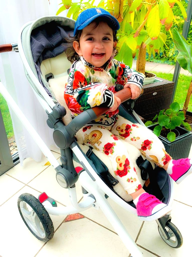 Singer Adnan Sami's daughter Medina.