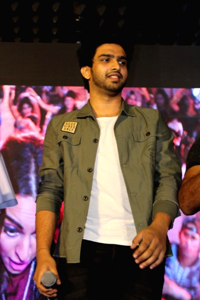 Singer Amaal Mallik during the launch of song Gulabi 2.0 from film Noor in Mumbai, on March 22, 2017.