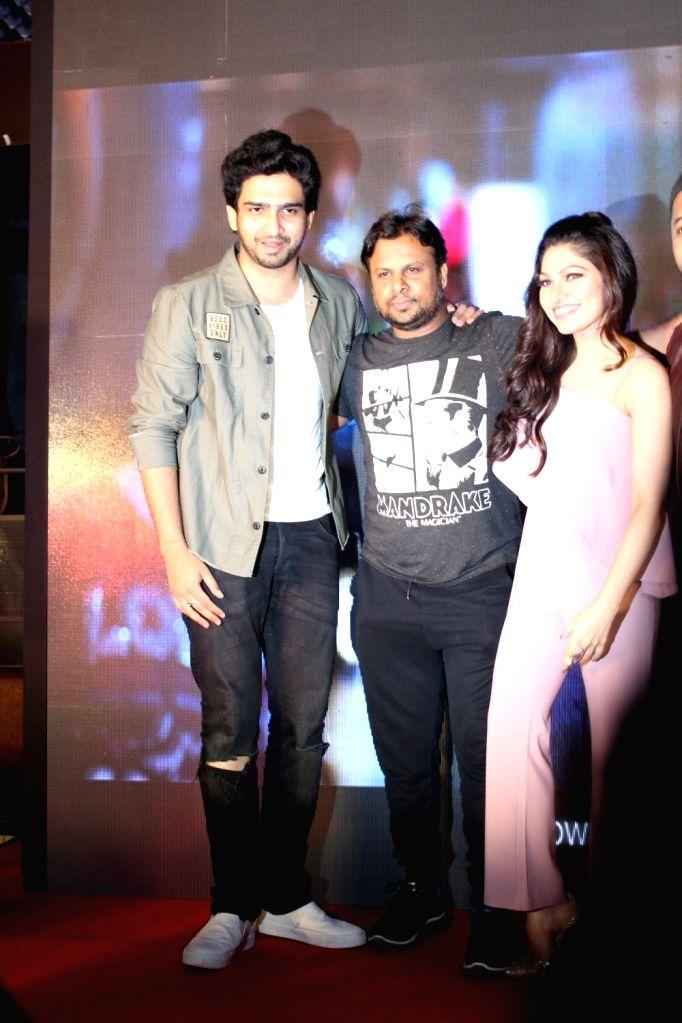 Singer Amaal Mallik, lyricist Kumaar, singers Tulsi Kumar and Yash Narvekar during the launch of song Gulabi 2.0 from film Noor in Mumbai, on March 22, 2017. - Tulsi Kumar