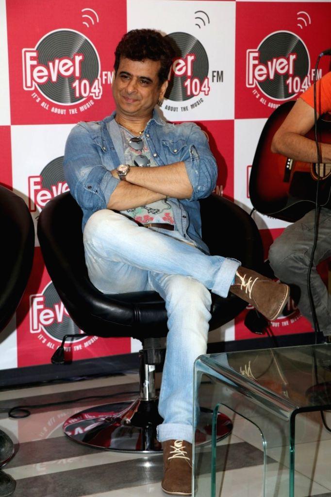 Singer and music composer Palash Sen at 104 Fever FM, in Mumbai on June 23, 2016.
