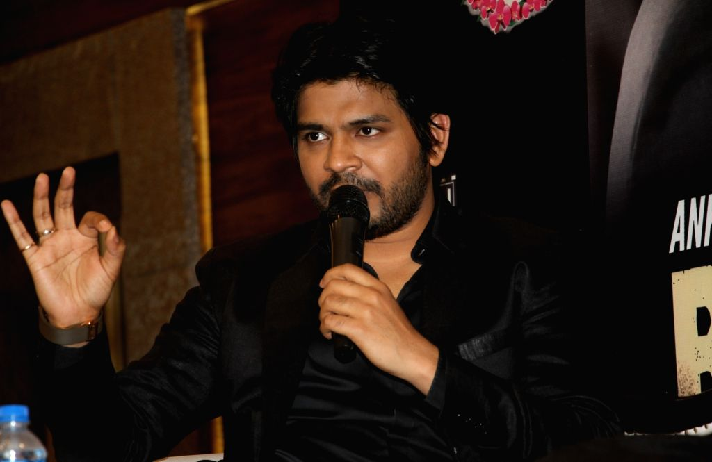 Singer Ankit Tiwari during a press conference to promote his album 'Badtameez' in Kolkata on June 25, 2016.