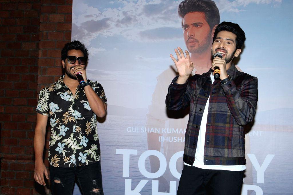 "Singer Armaan Malik at the launch of his single ""Tootey Khaab"" in Mumbai on Sep 27, 2019. - Malik"