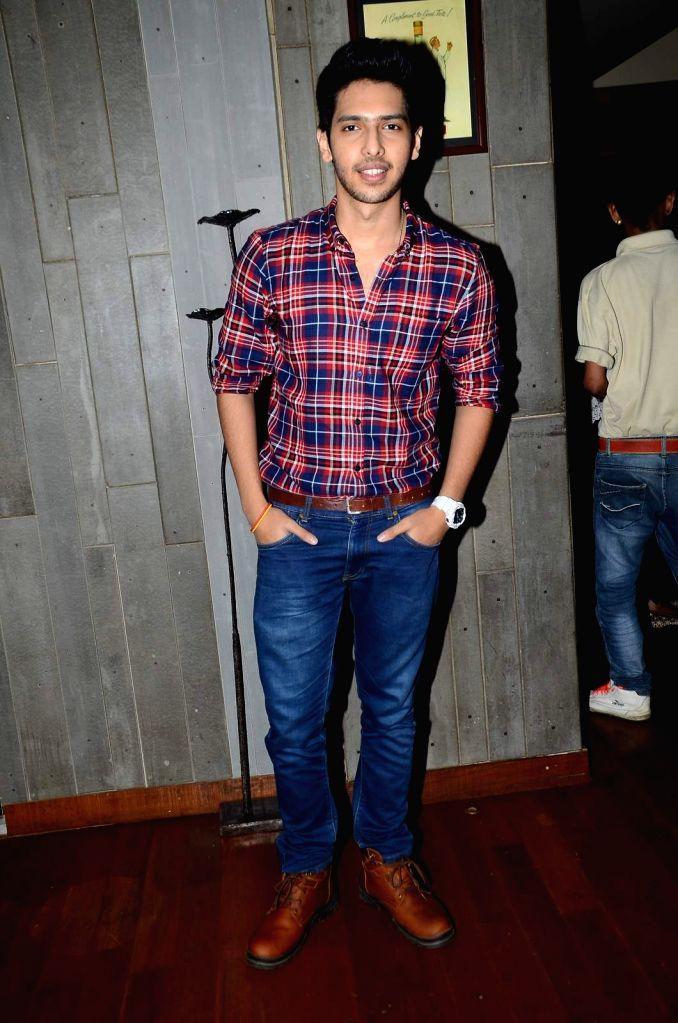 Singer Armaan Malik during his birthday party in Mumbai, on July 22, 2015.