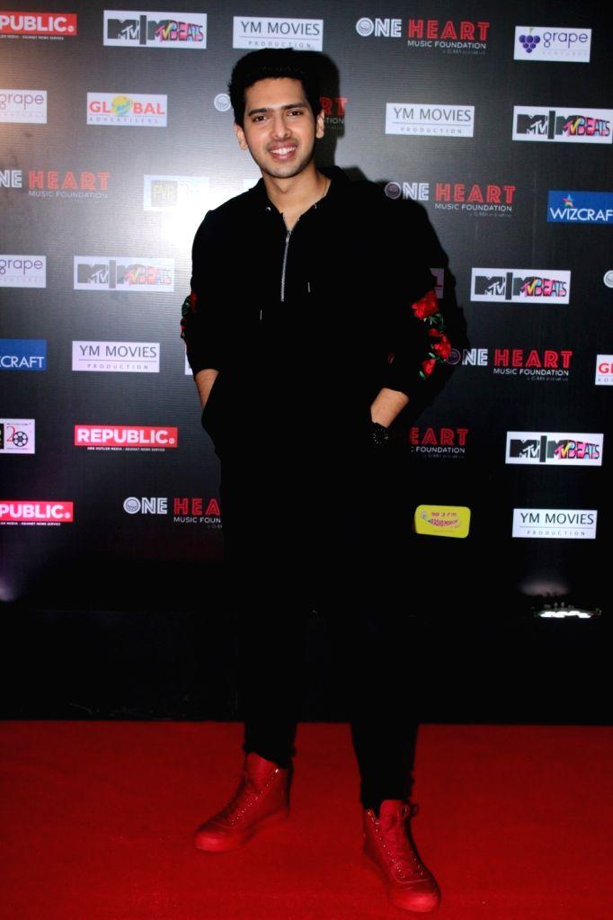 "Singer Armaan Malik during the premiere of Music Maestro A.R. Rahman ""One Heart - A Concert Film"" in Mumbai on Sept 7, 2017. - Malik"